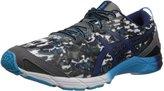 Asics GelHyper Tri Mens Running Shoe Carbon-Indigo Blue-Black