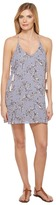 Brigitte Bailey Kalyn Spaghetti Strap Printed Dress with Tassels Women's Dress