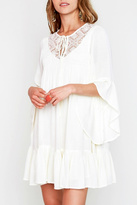 Hayden Lace Boho A-Line Dress