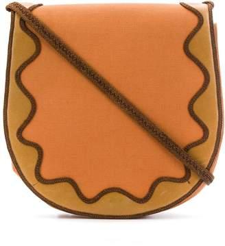 Saint Laurent Pre-Owned 1970's embroidered shoulder bag