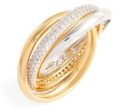 Nadri Women's Trinity Pave Ring