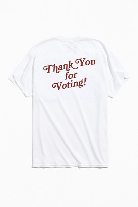 Urban Outfitters Thank You For Voting Tee