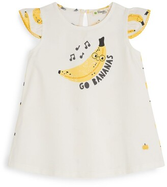 The Bonnie Mob Go Bananas Dress (6-24 Months)