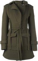 Alexander McQueen drawstring waist coat