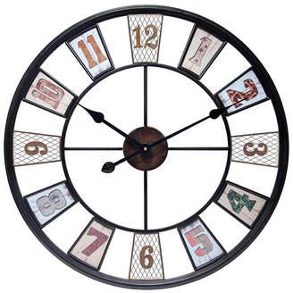 Infinity Instruments Decorative Wall Clock