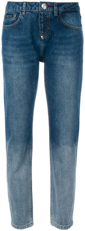 Philipp Plein colour contrast jeans