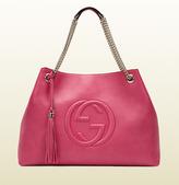 Gucci Soho Shocking Pink Leather Shoulder Bag
