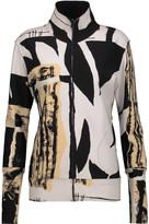 Norma Kamali Printed ponte jacket