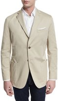 Robert Talbott Two-Button Jacket, Tan