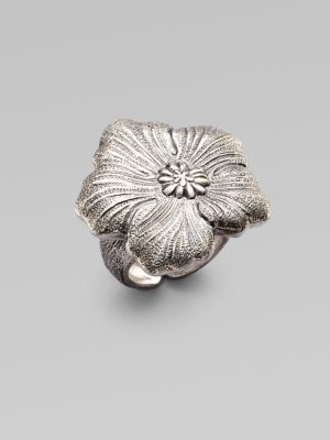 Buccellati Blossom Sterling Silver Ring