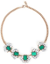 Sole Society Natural Stone Statement Necklace