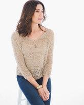 Chico's Ribbon Yarn Sweater