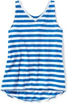 Old Navy Slub-Knit V-Neck Swing Tank for Girls