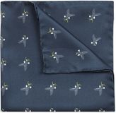 Jaeger Silk Hawk Pocket Square