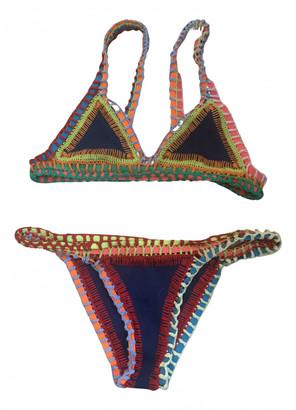 Kiini Blue Cotton - elasthane Swimwear