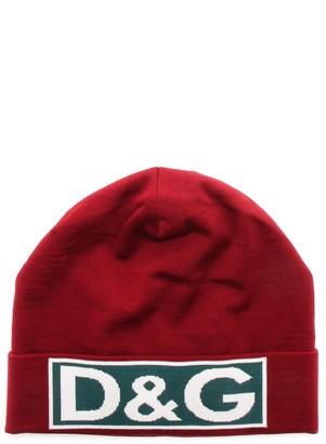 Dolce & Gabbana Logo Patch Beanie