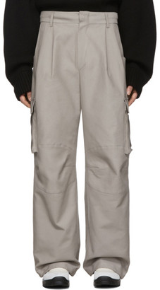 ADER error Gray Ronil Cargo Pants