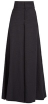 Marni High-rise wide-leg twill trousers