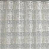 Asstd National Brand Priscilla Ruffled Lace Shower Curtain