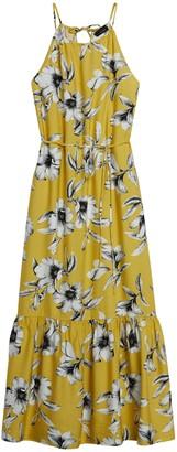 Banana Republic Petite Halter Maxi Dress