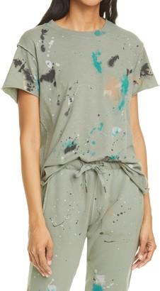 NSF Moore Paint Splatter Boyfriend T-Shirt