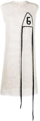 MM6 MAISON MARGIELA open knit dress