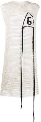 MM6 MAISON MARGIELA Open Knit Dress