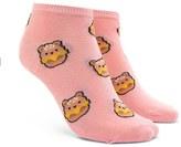 Forever 21 FOREVER 21+ Bear Print Ankle Socks