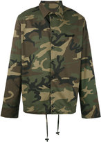 Numero 00 Numero00 - camouflage jacket - men - Cotton/Spandex/Elastane - M