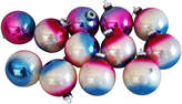 One Kings Lane Vintage Ombré Christmas Ornaments