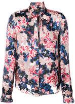 Saloni tigerlily floral printed shirt