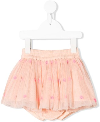 Stella McCartney Heart-Embroidered Tutu