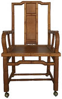 One Kings Lane Vintage Bamboo-Style Ming Armchair