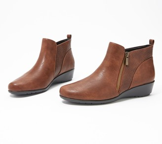 Aerosoles Leather Ankle Boot - All The Way