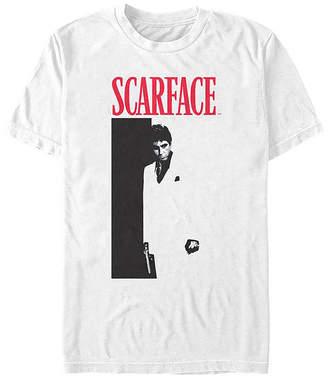 Fifth Sun Scarface Portrait Mens Crew Neck Short Sleeve Graphic T-Shirt