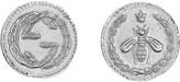 Gucci Coin rhodium silver earrings