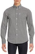 Ben Sherman Gingham Cotton Sport Shirt