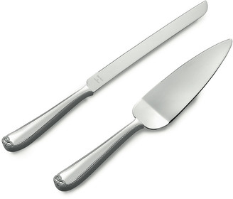 Wedgwood Vera Wang Infinity Cake Knife & Server Set