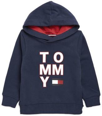 Tommy Hilfiger Junior Front Logo Graphic Hoodie