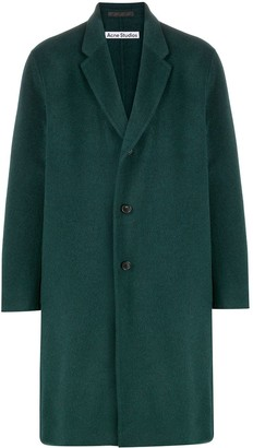 Acne Studios Textured Single-Breasted Coat
