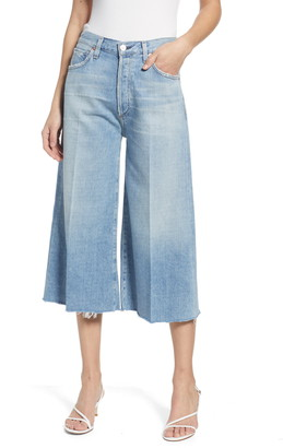 Citizens of Humanity Emily High Waist Wide Leg Culotte Jeans