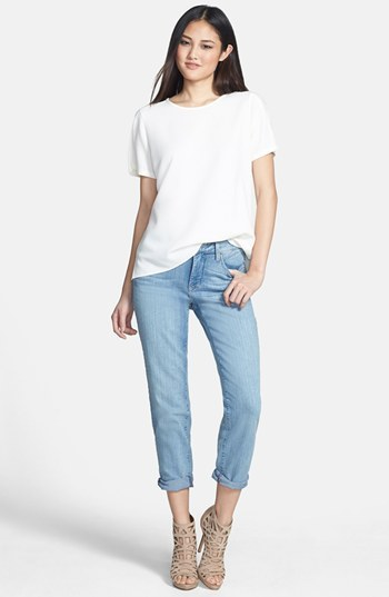 NYDJ 'Clarissa' Fitted Stretch Ankle Jeans (Manhattan Beach)