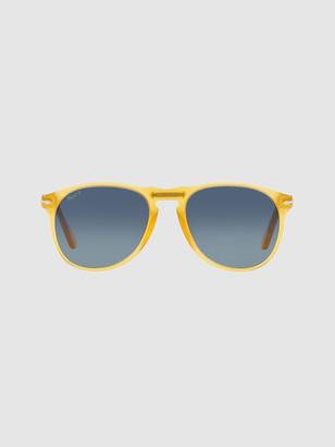 Persol 0PO9649S Pilot Sunglasses