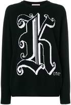 Christopher Kane intarsia knit jumper