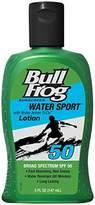 Bull Frog BullFrog Water Sport SPF 50 Sunscreen Lotion 5 oz