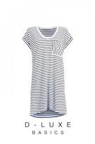 DECJUBA Luxe Boyfriend T-Shirt Dress