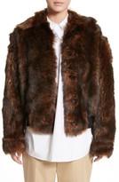 Sofie D'hoore Women's Genuine Shearling Jacket