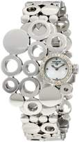 Swiss Diamond Swisstek SK17812L Limited Edition Watch With Mother-Of-Pearl Dial And Sapphire Crystal