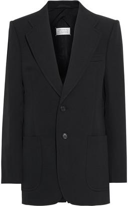 Maison Margiela Wool-blend Twill Blazer