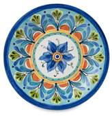 Bed Bath & Beyond Azul Hand Painted Look 10.5-Inch Round Dinner Plate